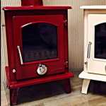 Eco 5kw Enamel Petit defra approvedMultifuel Stove